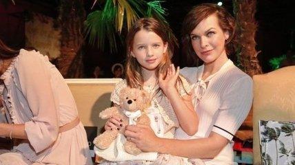 """Дочь Миллы Йовович станет Венди в ремейке """"Питера Пэна"""" от Disney"""
