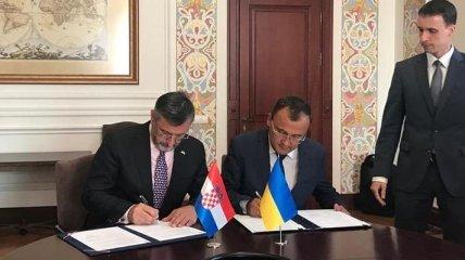Киев и Загреб согласовали направления взаимодействия перед председательством Хорватии в ЕС