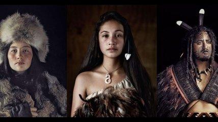 Портреты представителей редких племен со всего мира (Фото)