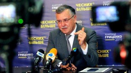 Суд отклонил второй иск Гриценко к ЦИК