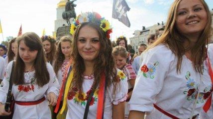 Сегодня в Киеве пройдет Мегамарш в вышиванках