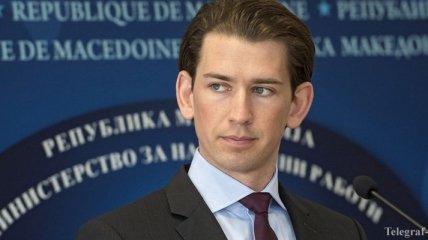 Глава МИД Австрии предлагает постепенно отменять санкции против РФ