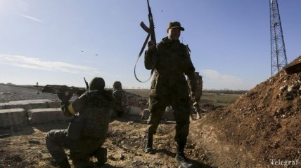За сутки боевики обстреляли позиции сил АТО 10 раз