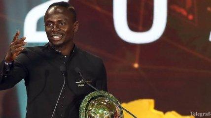 Садио Мане - лучший футболист Африки 2019 года
