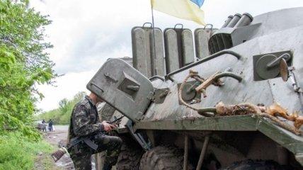 Силовики АТО прекратили боевые действия в районе около Славянска