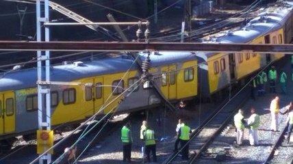 В Йоханнесбурге поезд не смог остановиться: 120 пострадавших