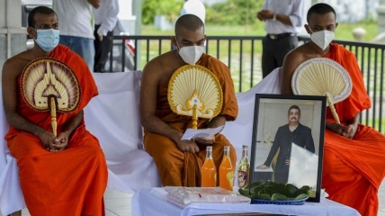 Элиянту Уайт почитали на Шри-Ланке, у него лечились премьер страны и знаменитости