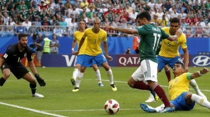 Бразилия – Мексика: видео голов и обзор матча ЧМ-2018
