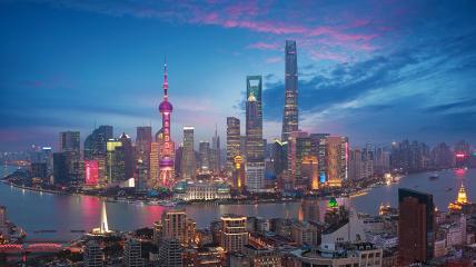 Шанхай — торгова столиця материкового Китаю.