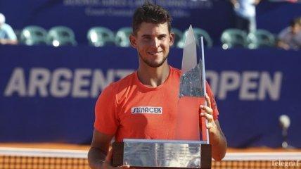 Доминик Тим - триумфатор Argentina Open