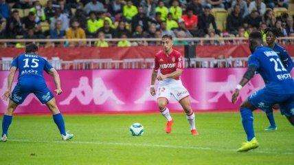 Монако минимально обыграл Ренн в 10-м туре Лиги 1