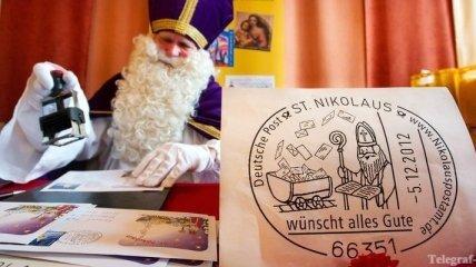 Рождество приносит рекордный доход германской почте