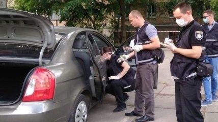В одном из районов Киева обнаружено тело мужчины в автомобиле