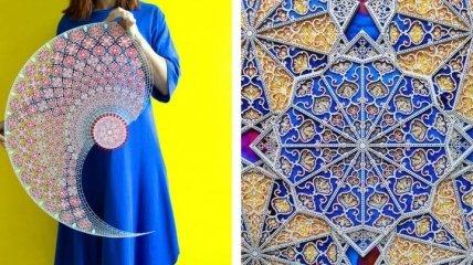 Арабская художница создает из бумаги кружевное чудо (Фото)