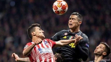 Атлетико обыграл Ювентус в Лиге чемпионов