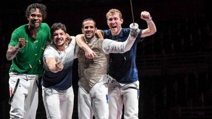 Французы разгромили россиян на Олимпиаде в финале командного турнира рапиристов