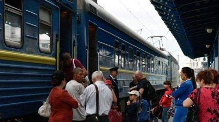 Украинцам ко Дню Конституции назначили дополнительные поезда