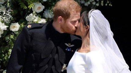 Меган Маркл поздравила Гарри с годовщиной свадьбы