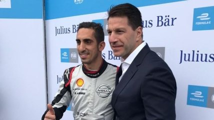 Буэми выиграл квалификацию Формулы-Е в Берлине