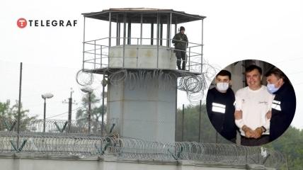 Тюрьма в городе Рустави, где содержат Саакашвили