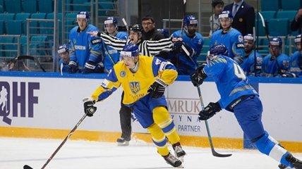 Украинские хоккеисты крупно проиграли Казахстану в олимпийской квалификации