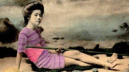 Японский пин-ап в 1870-1920 годов (Фото)