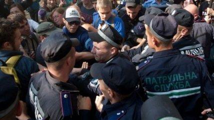 В Броварах милиция избила участников акции
