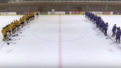 Сборная Украины по хоккею уступила Литве