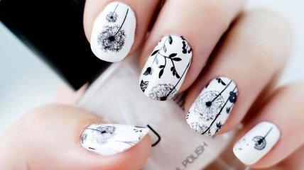 Маникюр 2019: идеально белые ногти на любой вкус (Фото)