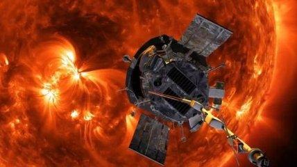 Солнечный зонд Parker Solar Prob подошел к Солнцу на рекордно близкое расстояние
