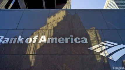 Прибыль Bank of America снизилась на 65%