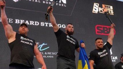 Украинец Новиков вновь стал сильнейшим человеком планеты (видео)