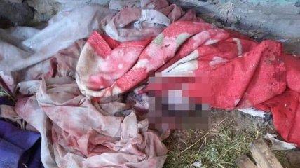 Во дворе многодетной матери на Житомирщине полицейские обнаружили мертвое новорожденное дитя