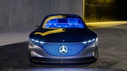 У нового Mercedes-Benz S-Class появятся фронтальные подушки для задних пассажиров (Фото)