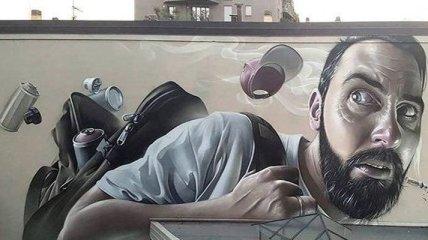 Самые необычные уличные рисунки со всего мира (Фото)