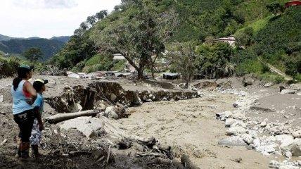 Жертвами оползня в Колумбии стали 78 человек