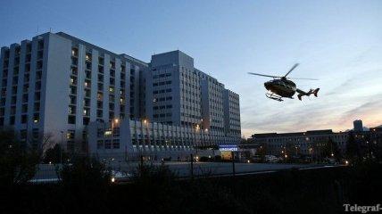 Эвакуация Михаэля Шумахера с горы (Видео)