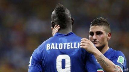 Марио Балотелли - звезда матча Англия - Италия