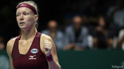 Бертенс шокировала первую ракетку мира на Итоговом турнире WTA (Видео)