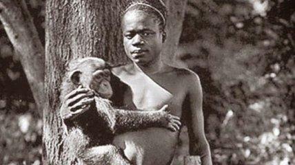 Чернокожие люди в зоопарках Европы (Фото)