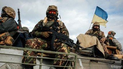 В зоне АТО продолжается ротация украинских военнослужащих