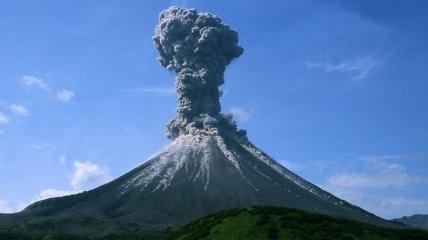 В Сети появились извержение вулканов из космоса