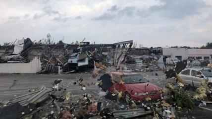В Пенсильвании бушевал двойной торнадо - есть пострадавшие (видео)