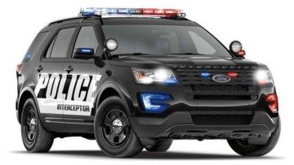 Компания Ford представила полицейский Explorer нового поколения