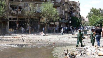 В Сирии произошел взрыв возле правительственного города