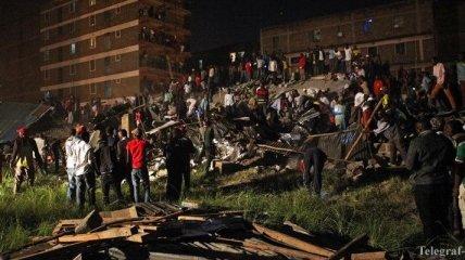 В столице Кении рухнул дом, есть жертвы