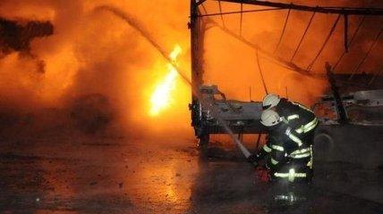 В Киеве взорвалась цистерна для перевозки газа, погиб рабочий