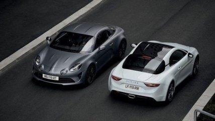 Официально: компания Alpine представила спортивное купе Alpine A110S
