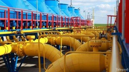 Украина прекратила закачку газа в подземные хранилища