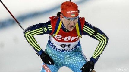 Биатлон. Результаты женской спринтерской гонки в Рупольдинге